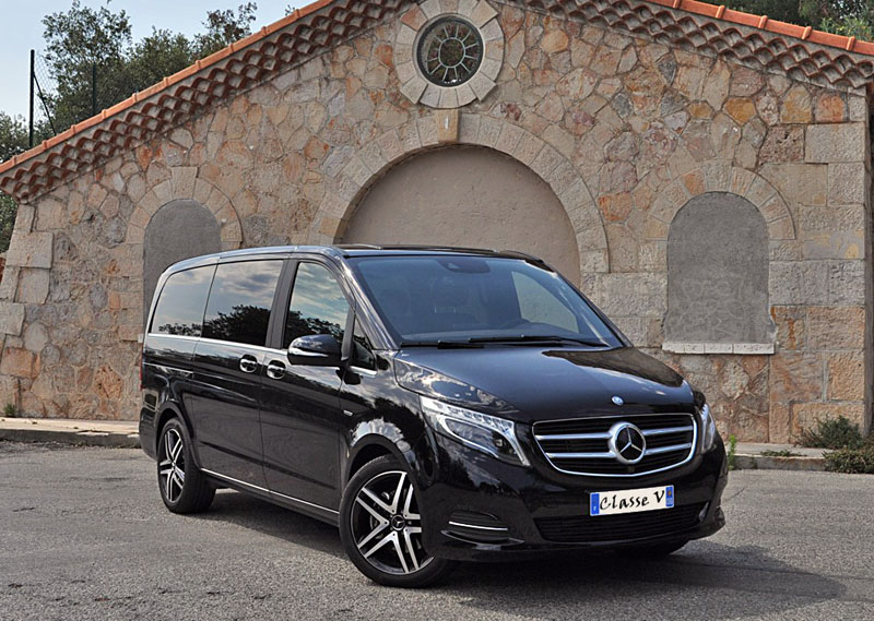 Mercedes Benz Viano para grupos pared