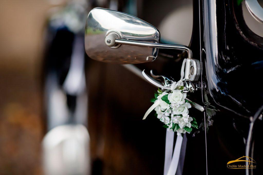coche con chófer para boda