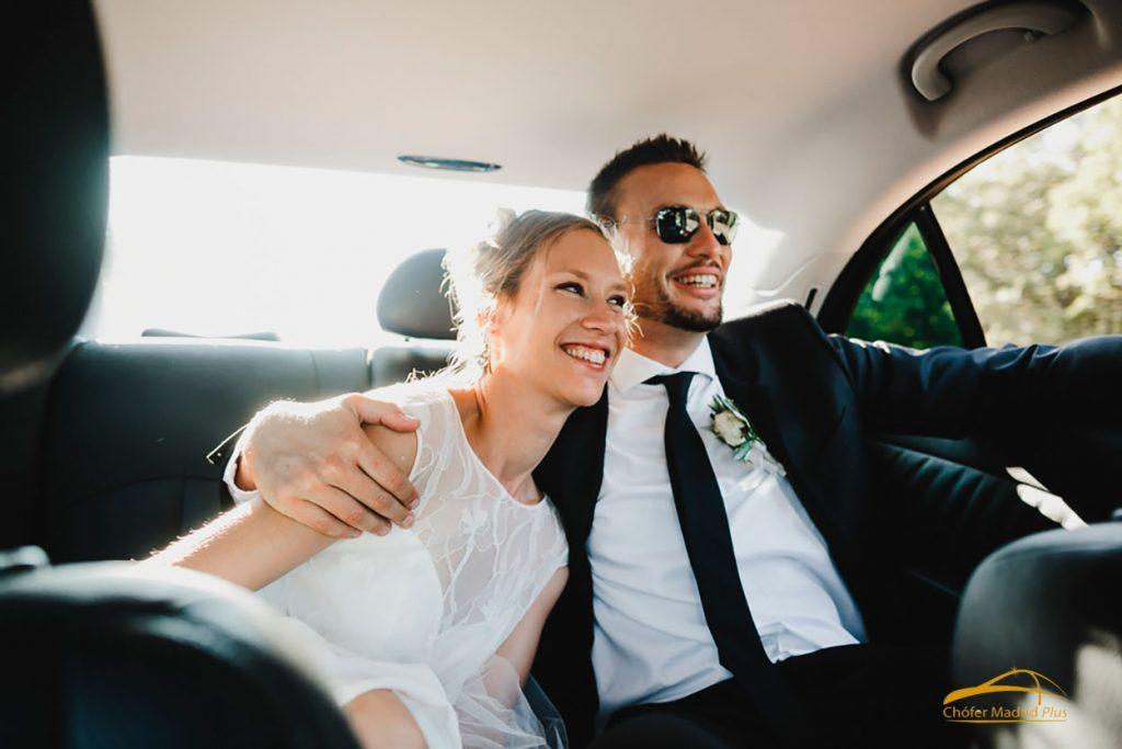 precio alquiler coche con chofer boda