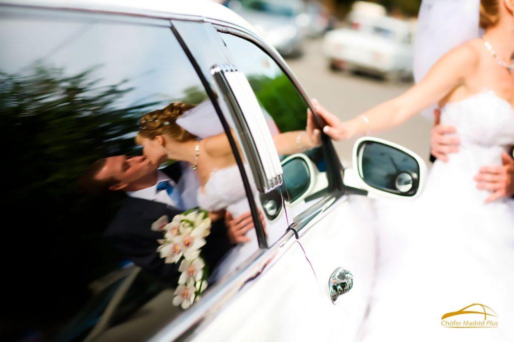 alquiler de vehículos de alta gama para boda