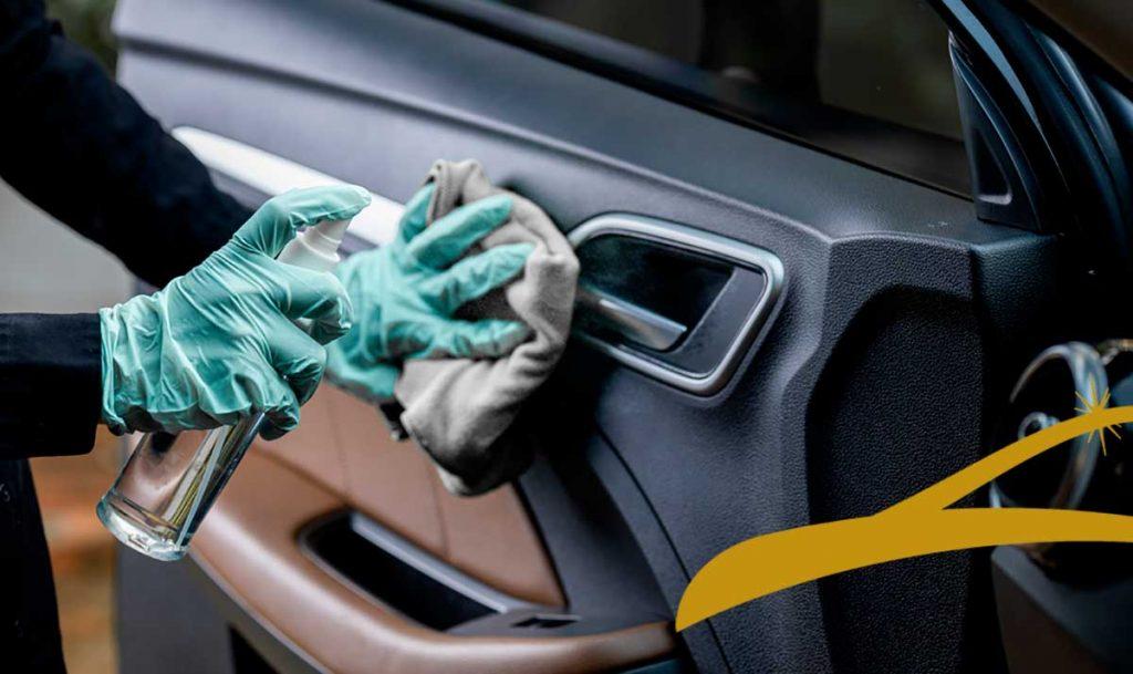 alquiler de coche con conductor desinfectado madrid