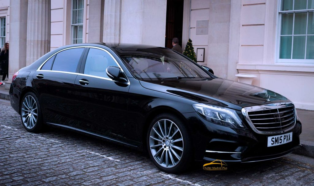 Alquiler de coches con conductor. Mercedes clase S500